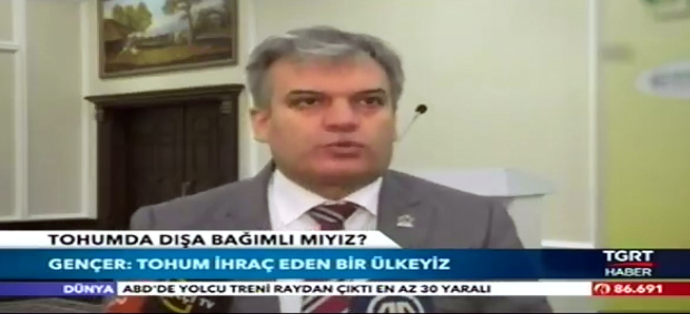 TÜRKTOB President Gencer, TGRT spoke to the News
