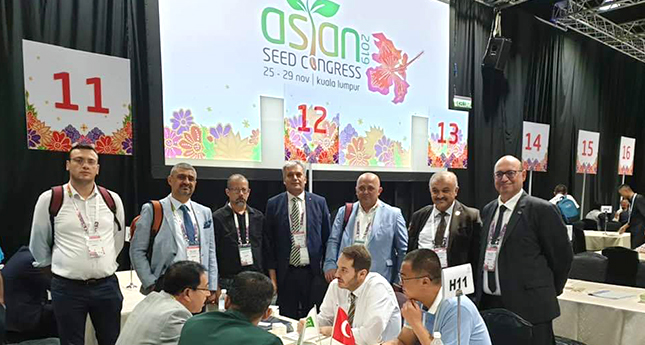 TÜRKTOB DELEGATION ATTENDED TO ASIA SEED CONGRESS